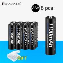 Online Shop <b>PALO</b> 2Pcs 1.2V 3000mAh <b>AA</b> Batteries + 2Pcs ...