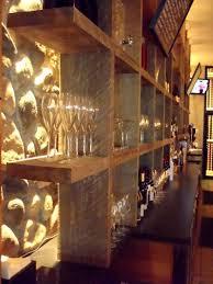 bar shelves back bar lighting