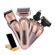 Kemei KM-1622 <b>4 In 1 Multifunctional</b> Rechargeable Shaver + Free ...