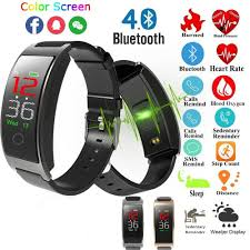 <b>CK11C Smart Bracelet Real-time</b> Heart Rate IP67 Waterproof Color ...