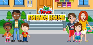 My Town : <b>Best Friends</b>' House games for kids - Apps on Google Play