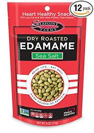 Seapoint Farms Sea Salt <b>Dry Roasted Edamame</b>, 4 oz Gluten-Free ...