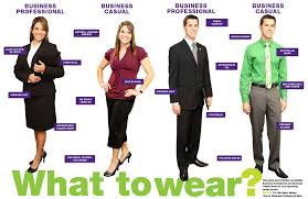 professional attire career services state university what to wear business professional business casual examples