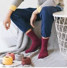 GZDL <b>1 Pair Winter Men</b> Knitted Wool Socks Classic Business Man ...