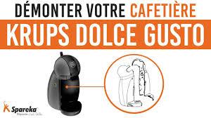 Comment démonter votre cafetière Krups DOLCE GUSTO ? - YouTube
