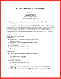 Resume Examples  Sales Clerk Resume Sample  sales clerk resume         Resume Examples  General Office Clerk Resume Example With Objective Job Position And Professional Experience As