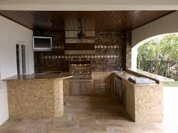 limestone tiles kitchen: kitchen fascinating outdoor lowes kitchen design using cream stone kitchen counter including cream limestone tile kitchen floor and wooden kitchen ceiling