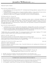 coordinator resume template coordinator resume