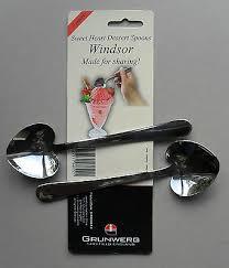 Windsor Sweet Heart Shaped <b>Dessert Ice cream Stainless Steel</b> ...