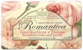 <b>Мыло</b> Nesti Dante <b>Romantica Florentine</b> Rose and Peony <b>Soap</b> 250г