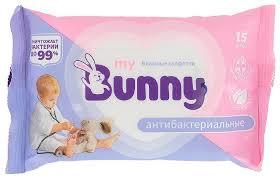Влажные <b>салфетки My Bunny антибактериальные</b> — купить по ...