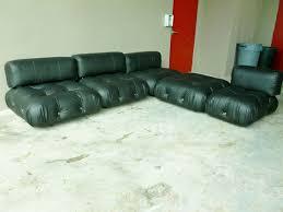 italian modular furniture. 70u0027s italian b u0026 italia mario bellini camaleonda modular black leather sofa p ebay italian modular furniture