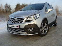 Купить <b>Защита передняя нижняя</b> 42,4 мм Opel Mokka (2012-) TCC ...