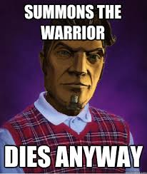 Bad Luck Handsome Jack memes | quickmeme via Relatably.com