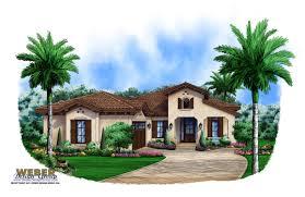Spanish Style House Home Floor Plans Plan   Weber Design GroupSpanish Floor Plan