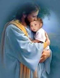 Image result for jesus and little ones