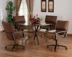traditional style dining set glass