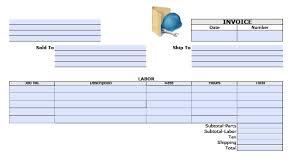 general labor invoice template excel pdf word doc adobe pdf pdf microsoft word