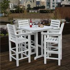 garden furniture patio uamp: outdoor  high top table outdoor furniture outdoor
