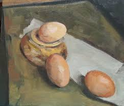 JANE KELLY - <b>Eggs</b> using the Zorn <b>palette</b> - Artists & Illustrators ...