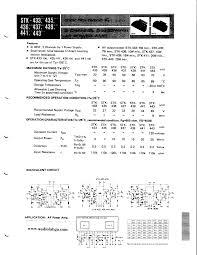 Datasheet STK436 xxx STK4xx 2 Channel 5 to 25W AF Power Amp. STK436 xxx pdf