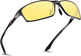 <b>SOXICK</b> Men's HD Polarized Night Driving <b>Glasses</b> Anti Glare <b>Safety</b> ...
