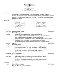 marketing and s resume objective breakupus gorgeous marketing resume examples by aiden