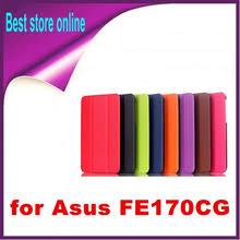 Магнит смарт сумасшедший кожаный <b>чехол для Asus FonePad</b> 7 ...