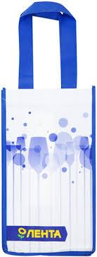 <b>Сумка</b> для <b>бутылок</b> ЛЕНТА 18,5х18х33,5см – купить в сети ...