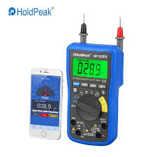 HoldPeak HP 37C <b>True RMS</b> Digital <b>Multimeter 6000 Counts</b> ESR ...