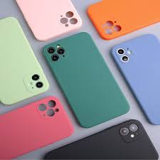 Rubik cube <b>liquid silicone</b> Straight Edge <b>Mobile Phone</b> Case i7 ...