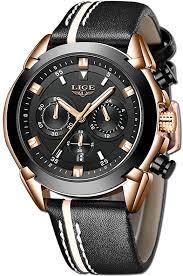 LIGE Watches for Men Sports Chronograph ... - Amazon.com