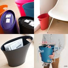 <b>Контейнер мусорный Skinny</b> серебристого цвета — купить по ...