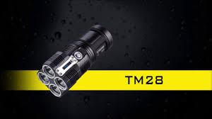 Мощный <b>светодиодный фонарь</b> #<b>Nitecore</b> TM28 - YouTube