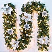 christmas garland with lights - Amazon.co.uk