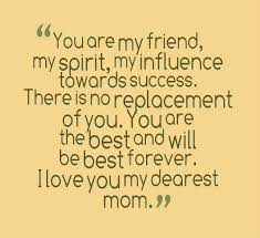 i love my mom quotes from daughter - Bing Images | I LOVE MY MOM ... via Relatably.com
