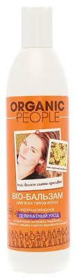 Organic People <b>био</b>-<b>бальзам для волос</b> Деликатный... — купить ...