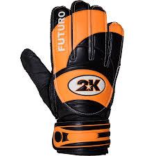 """<b>Перчатки вратарские 2K</b> Sport """"Futuro"""", цвет: черный, оранжевый ..."""