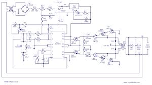 pwm inverter circuit based on sg3524 12v input 220v output 250w 250w pwm inverter circuit