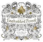 Зачарованный лес книга раскраска
