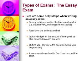 exam study strategies that really work  a student services    types of exams  the essay exam here are some helpful tips when writing an essay