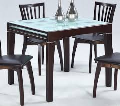 extendable dining table set: dining room elegant glass top expandable dining table sets