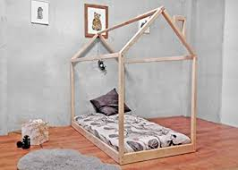 <b>Little Village</b> Montessori house bed frame with slats and any <b>color</b> ...