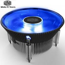 <b>Cooler Master</b> i70 <b>i70C</b> MINI <b>CPU</b> Cooler Radiator 12cm LED Blue ...