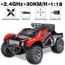 <b>1:18</b> 48 KM/H 2.4GHz <b>Remote Control</b> Car RC Electric Monster ...
