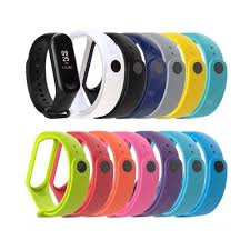 A1 Color <b>silicone strap for xiaomi</b> Band 3 and 4 generations ...