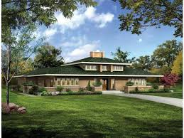 Prairie Style House Plans at Dream Home Source   Prairie Home and    Prairie Style Home Plans