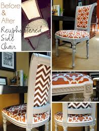 Dining Room Chair Reupholstery Ideas Spray Paint And Reupholster Your Dining Room Chairs Eclectic