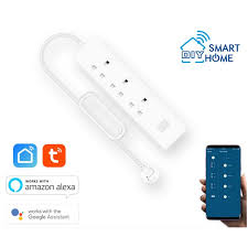 Smart DIY <b>Wifi Power Strip</b> 3 Outlets + 2 USB (<b>Tuya</b> Smart Life ...