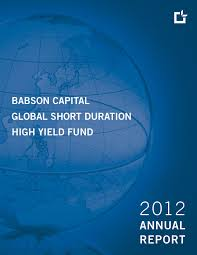 babson capital global short duration high yield fund babson capital europe offices